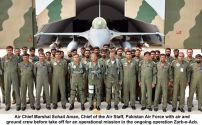 Air Chief Marshal Sohail Aman leads from the front in Operation Zarb-e-Azb