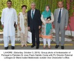 Ambassador of Portugal Dr. Joao Paulo Sabido Costa visits Punjab University