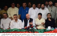 """Irregularities committed by the ECP is the """"murder"""" of democracy :Ch Sarwar"""