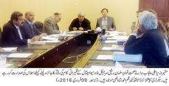 Secretary Health Najam Ahmed Shah reviews pace of civil work at Mayo Hospital