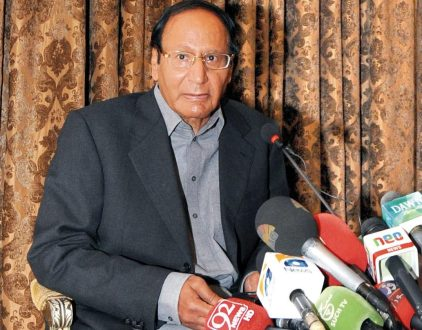Ch Shujat Hussain demands a new law to curb anti state elements