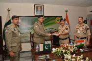 Bi-annual meeting between Pakistan Rangers and BSF held at Lahore