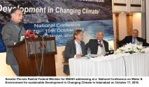 Media to play role in highlighting climate change threat : Pervaiz Rashid