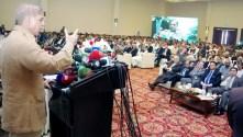 Shahbaz Sharif lamented Imran Khan for locking down Islamabad