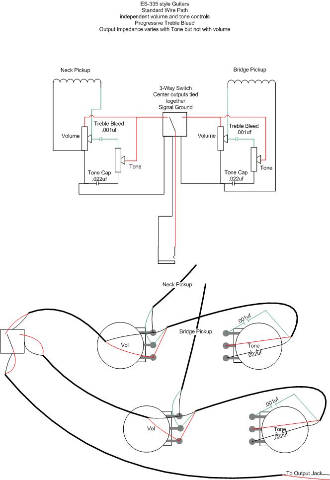 guitar wiring capacitors