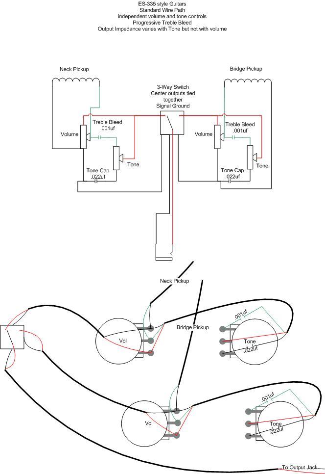 guitar pot wiring