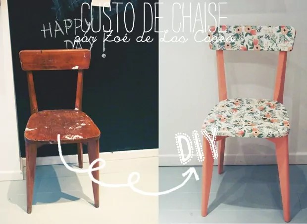 Repeindre Des Chaises En Paille Diy : Customisation De Chaise Par Zoé De Las Cases - Lait