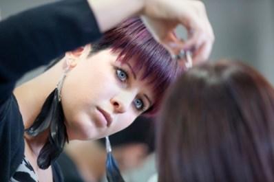 LaJames College Beauty School Student