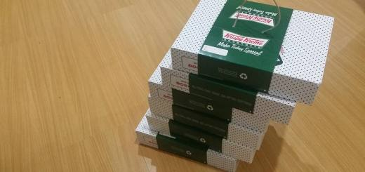 Buy a bunch of Krispy Kreme Doughnuts