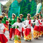 The Children who joined during the Panagbenga 2013 Opening Parade