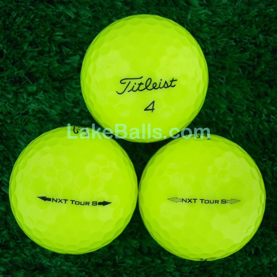 Tour S Titleist Nxt Tour S Yellow Lakeballs