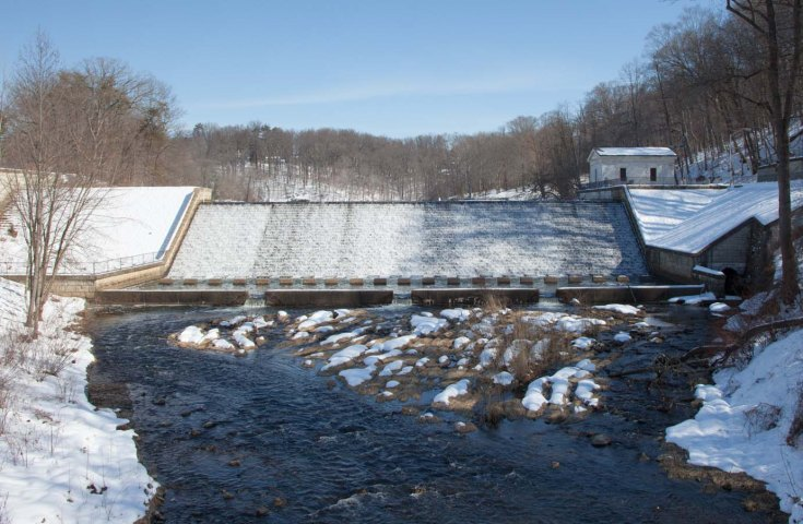 Snowy Dam