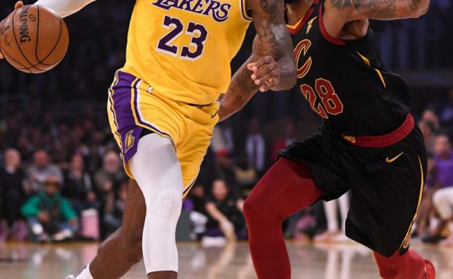 Recap The Lakers Bounce The Cavaliers For Their Ninth