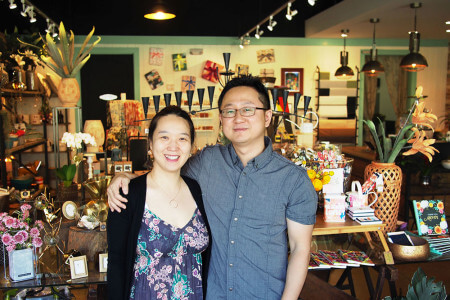 Joyce and Sean Choi operate Bloom-A-Round, a collection of flowers and plants for your home decor.