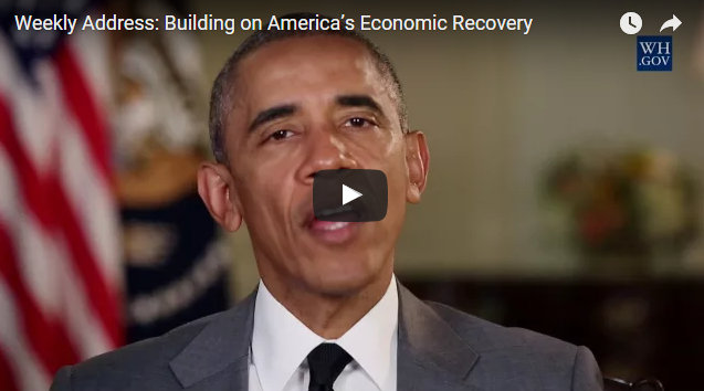 President Obama's Weekly Address : Building On America's Economic Recovery