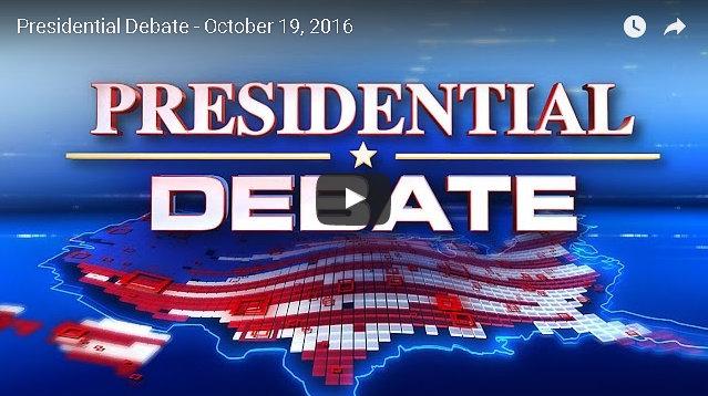 Watch The Last Presidential Debate Of 2016