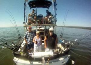 Hooker too fishing boat