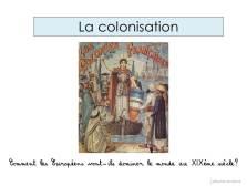 XIX colonisation