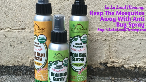Keep The Mosquitos Away With US Organic Anti Bug Spray