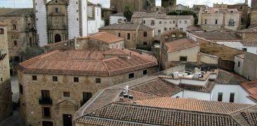 Cáceres desde la torre de la Concatedral de Santa María