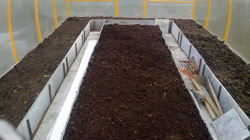 приготовление почвы для высадки огурцов