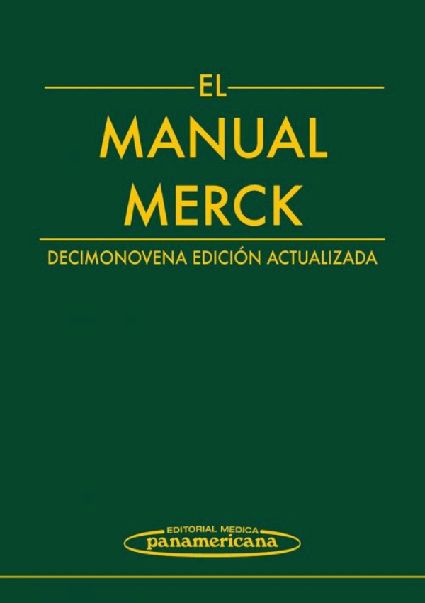 Libro Medicina Interna El Manual Merck