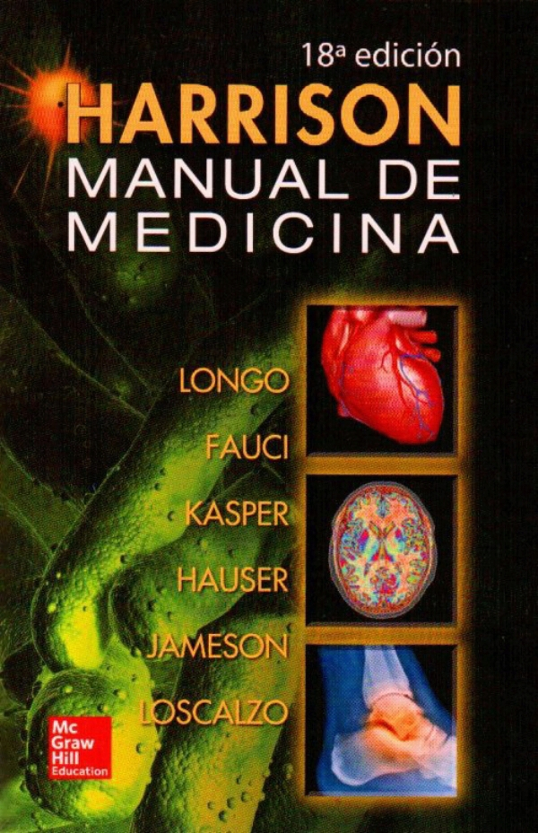 Libro Medicina Interna Harrison. Manual De Medicina