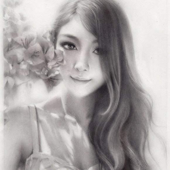 Graphite on Bristol smooth, 6.5 x 9.5 in. (13.25 x 16.5 in. framed) $550.00