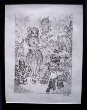 """graphite on paper, 8x11"""" in 13x15"""" frame $250 Sold"""