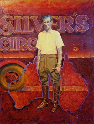 Sonny King - Silver's Circus Oil on canvas, 36x48 in. $6,000