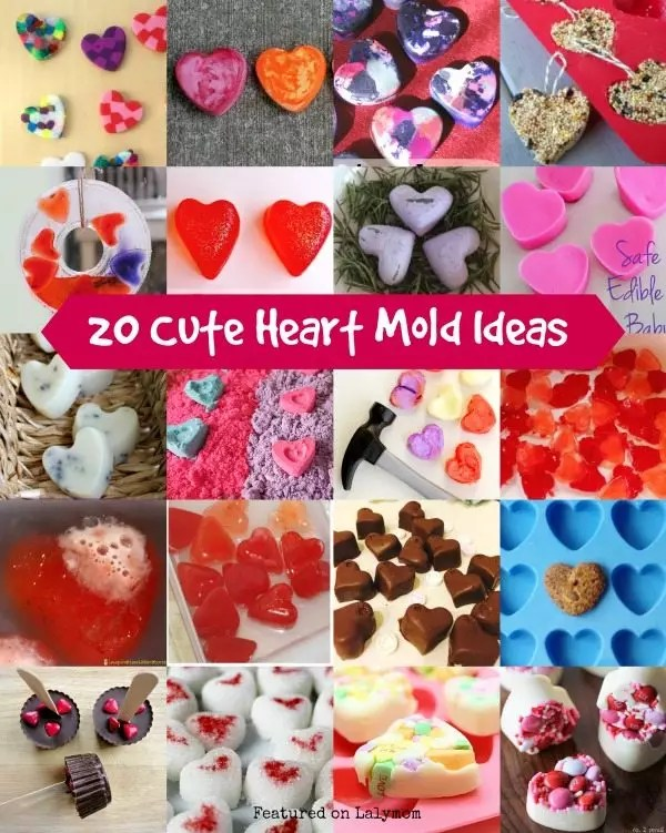 20 Cute Valentineu0027s Day Gifts Using Heart Shaped Moulds - valentines day gifts
