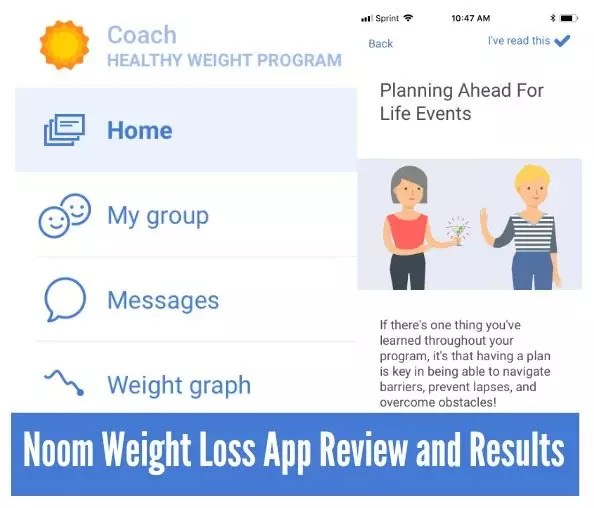 2018 Noom Review - Pros and Cons of Noom Weight Loss App