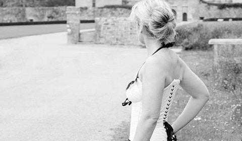 robe de mariée lacage