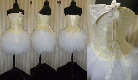robe-mariee-courte-corset