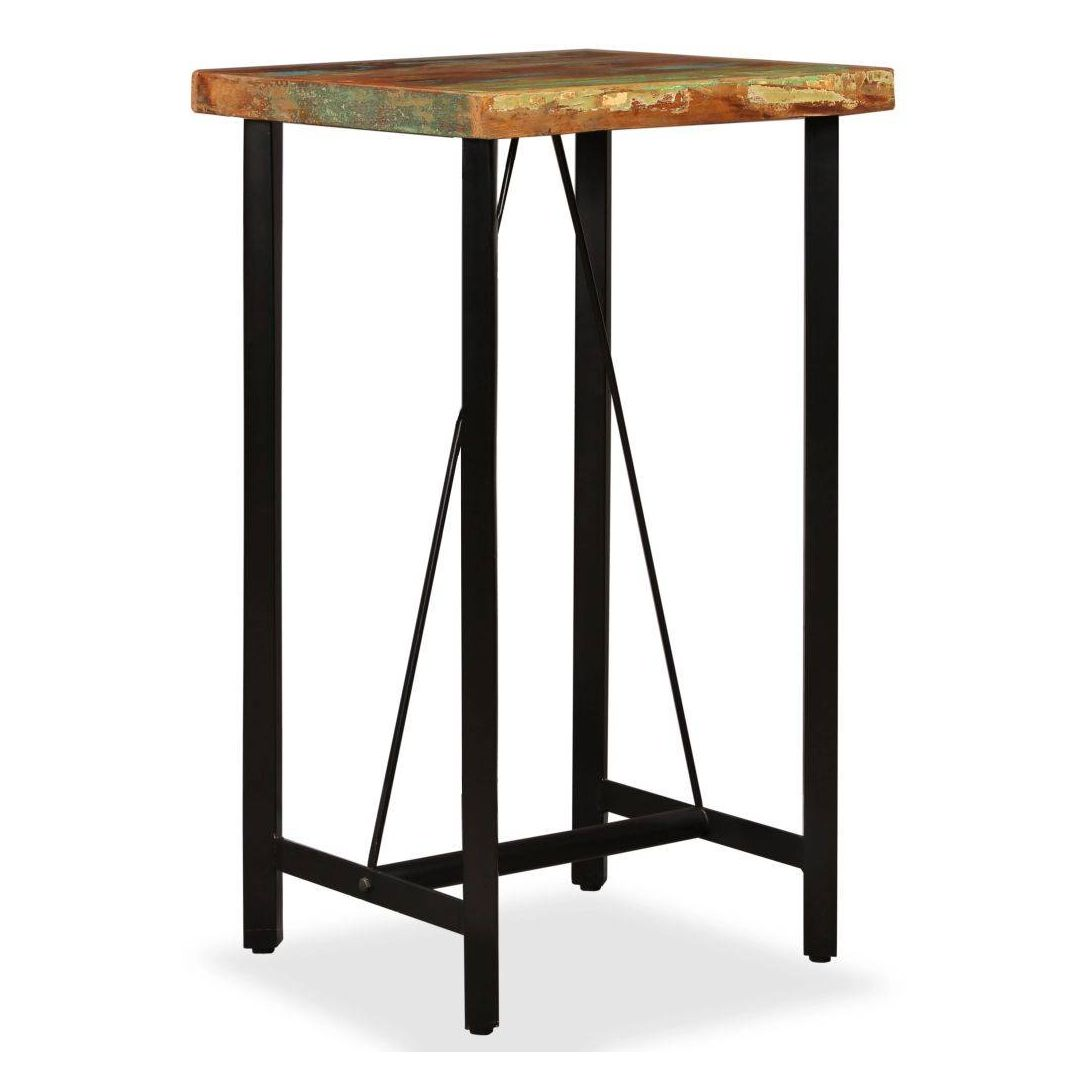 Table Bar Industriel Table De Bar Industrielle Bois Recuperation Massif