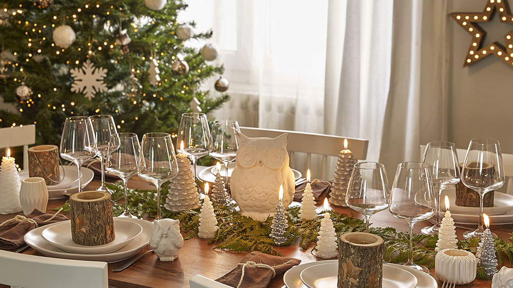 Alinea Table Exterieur Table De Noël : Inspiration Rustique Et Scandinave