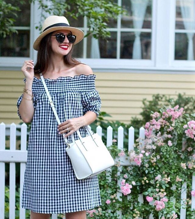 Happy Friday loves! Isnt this the cutest 15 gingham dress?hellip