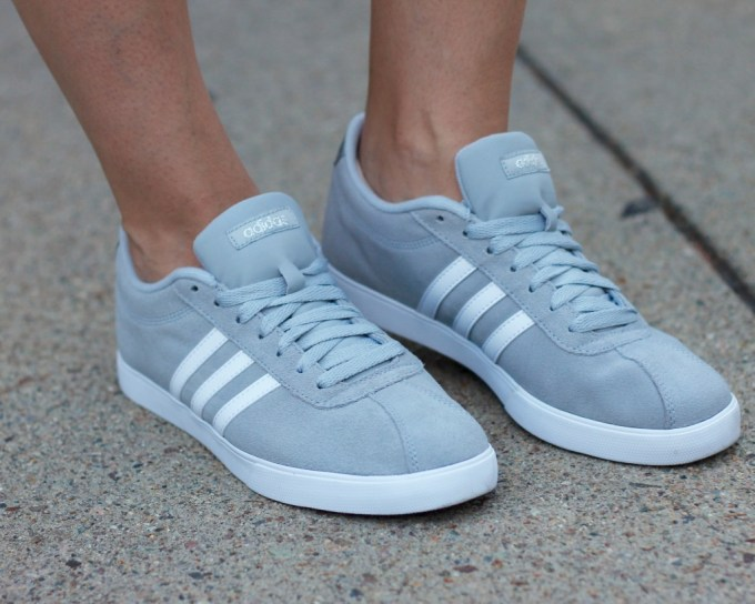La Mariposa Boston Style Blog, Styling Sneakers, Grey Adidas Superstars, Summer Sneakers Outfit