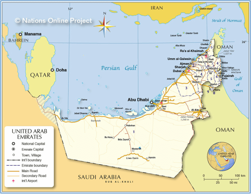 Geography And Enviornment Uae