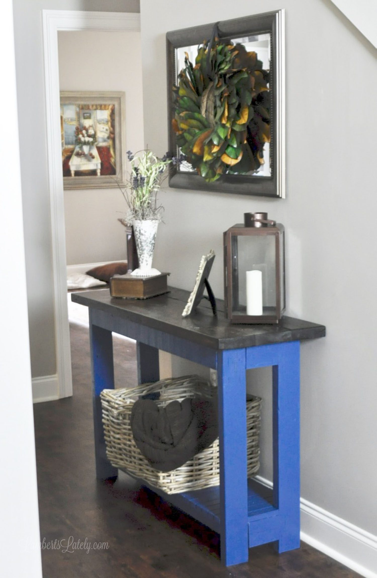 Console Table But An Easy Diy Farmhouse Console Table Lamberts Lately