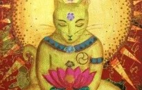 La leyenda budista sobre los gatos