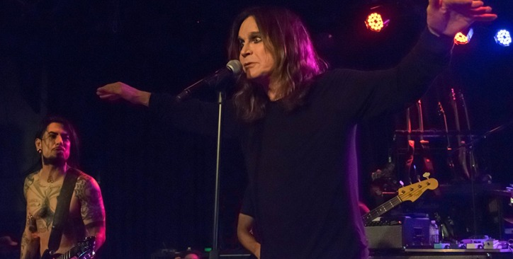 Ozzy Osbourne with Royal Machines Los Angeles
