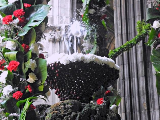 Font de Sant Jordi. Claustro de la Catedral.