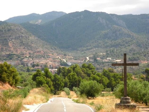 Enclave entre montañas.