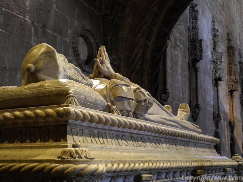 Tumba de Vasco de Gama.