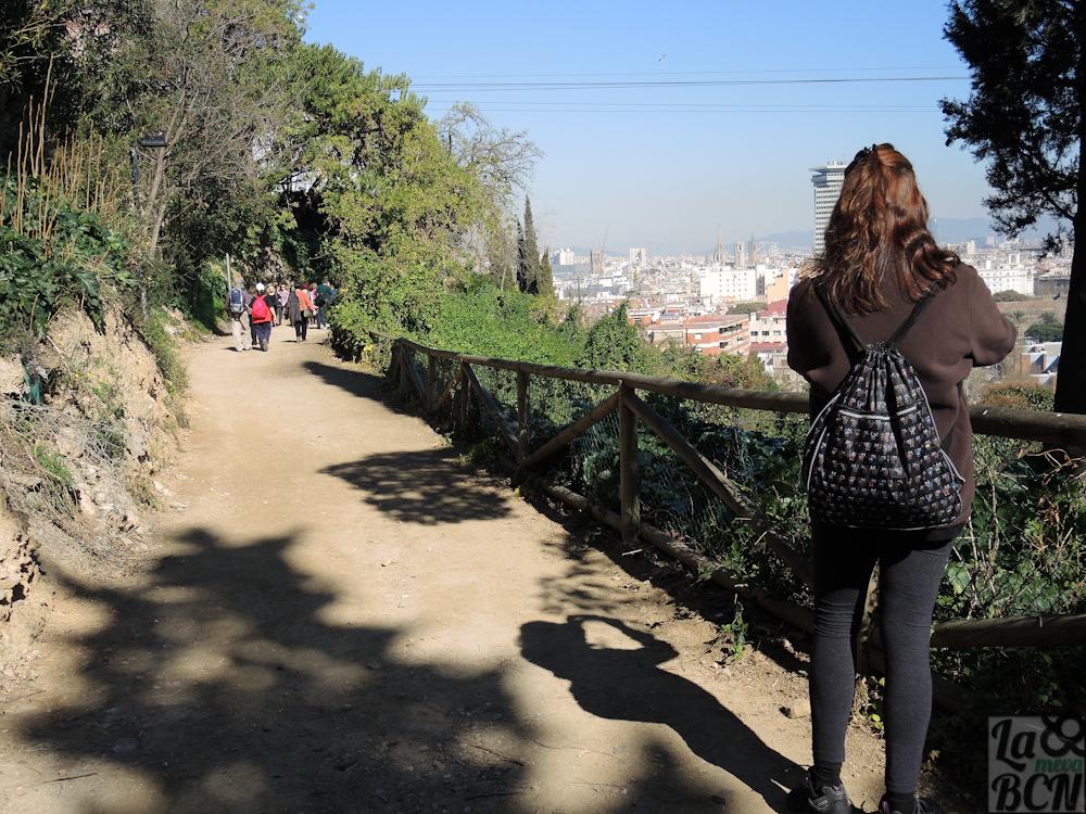 Descubriendo rincones de Montjuïc