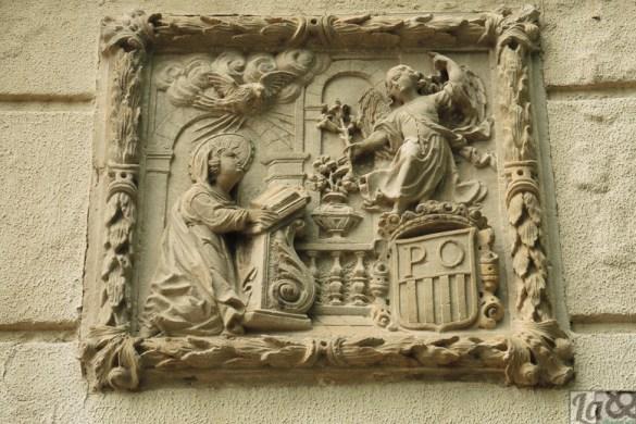 Relieve perteneciente al desaparecido priorat de Natzaret de La Rambla.