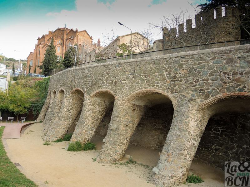 Viaducto obra de Antoni Gaudí 1900-1902