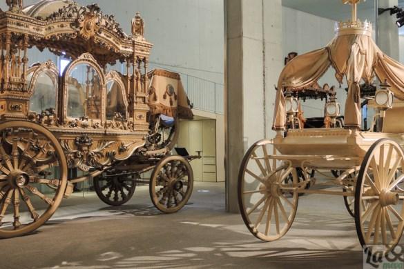 Un col.lecció única a Europa, les carrosses fúnebres.