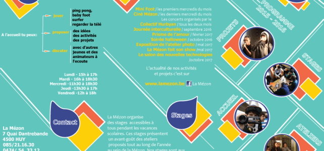 La Mézon Programme 2016-2017